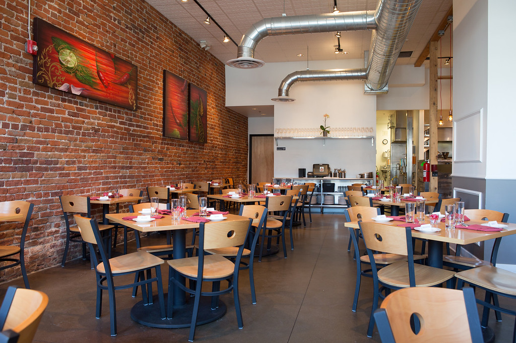 . Aloy Modern Thai focuses on Thai cuisine served in a style that fuses traditional heritage with new techniques. Photo by Jennifer Olson.