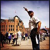Tickets! I gott'em, you need'em! #rockies #openingday 📷 @shootsethshoot<br /> <br /> Denver post photographer Seth McConnell covered the Colorado Rockies opening day, on April 8, 2016, using the photo app Hipstamatic and publishing on Instagram.