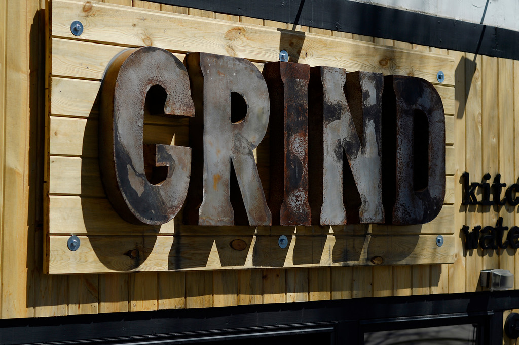 . DENVER, CO - APRIL 21:   Grind Kitchen + Watering Hole in Cherry Creek North in Denver on Thursday, April 21, 2016.   (Photo by Cyrus McCrimmon/ The Denver Post)