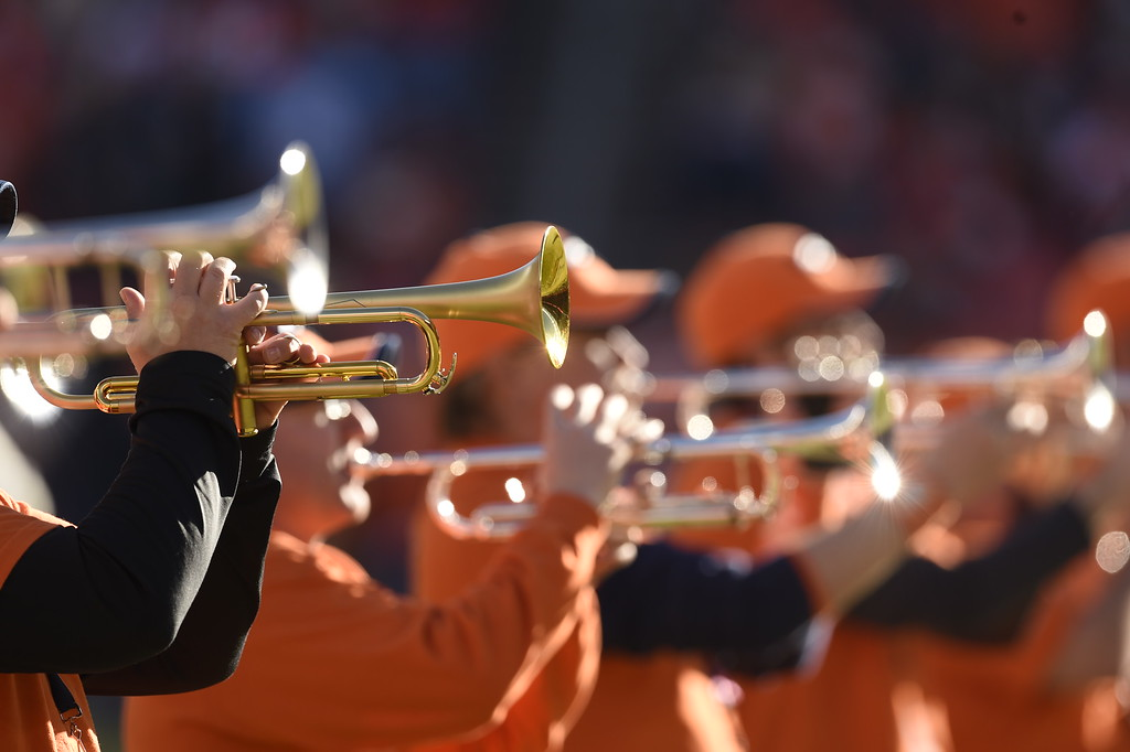 . The Stampede Band plays before the start of the game. The Denver Broncos played the San Diego Chargers at Sports Authority Field at Mile High in Denver, CO on January 3, 2016. (Photo by Helen H. Richardson/The Denver Post)
