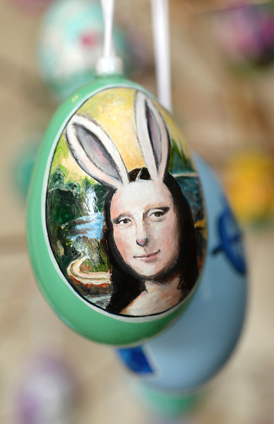 2014-04-03 Hand Painted Easter Eggs
