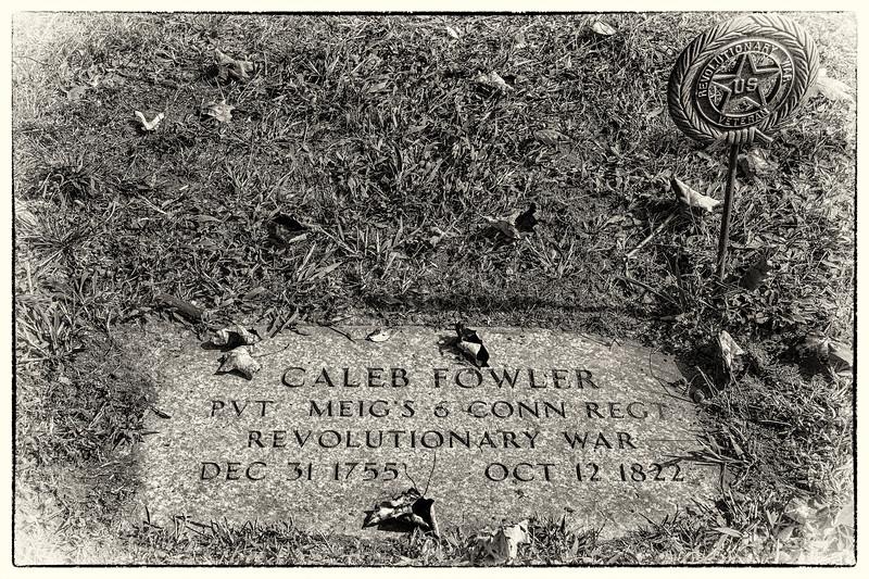 Caleb Fowler (1755-1822) Gravesite - Soldier of the American Revolution