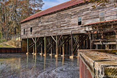 Parrish Mill and Covered Bridge