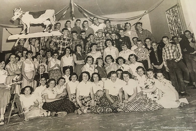 Old Mission Grange Hall Dance, 1954