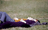 Sunday Snooze - Fairmont Park - Philadelphia - Taken with a Nikon F1 with a 50mm Nikkor lens - Ektachrome 64 film