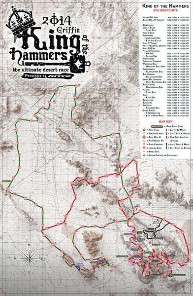 King of the Hammers Race Course