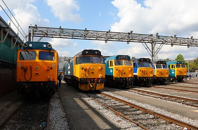 Class 50 lineup Old Oak Common