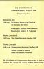 Shipley School Commencement Exercises schedule, June 6-8, 1954.