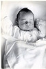 Bud, newborn, Providence, RI.  May 1961. Providence Lying-In Hospital (now the Women and Infants Hospital).