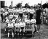 Mary Boswell School field day, May, 1967.<br /> 1st R: Kyle, Janean, Stacy Vanhoy<br /> 2nd R: Eric, Kent, Kim, Chuck, Suzanne Axness, Nan Curry<br /> 3rd R: Carol, Rusty, Blake<br /> 4th R: Ann White, Mona, Duffy Todd, Jane, Bud