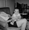 September, 1961, Tulsa, OK, apartment.