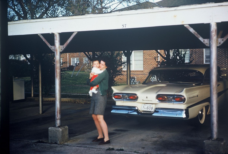 2520 So. Harvard Court, Apt. A., and our Ford Fairlane??  Fall 1961.
