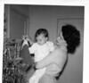 Christmas Eve, 1961, Tulsa, OK, apartment.