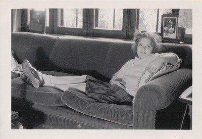 Winter, 1944, Isabel at Rosemont.
