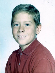 """Brant Henderson III (""""B""""), 10 years old."""