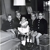 Jeff, Ronnie, Lauren, Everett and Brant Jr. Henderson.  Approximately 1960.