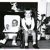 Billy (4 months) and Gerry Henderson (2.5 years), Christmas 1963.