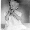 Hilary Schoff.  Nov. 1963.  Age 1 year.