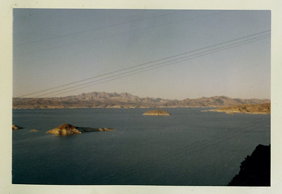 Lake Mead from Hoover Dam area, January 1964.