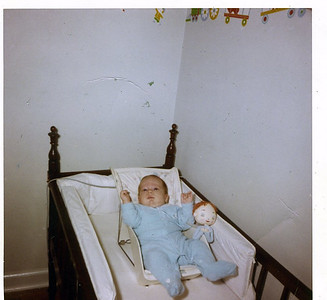 Billy Henderson, age 3 months, October 1963.