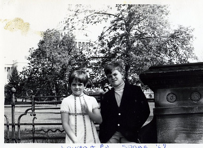 Lauren and Everett Henderson, Spring 1969, in Washington, D.C.