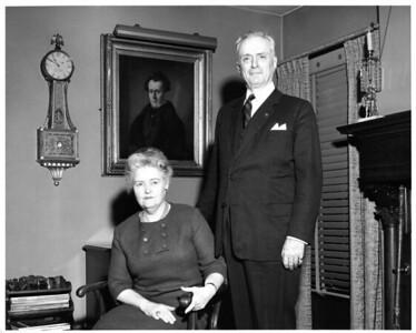 Nana & Bapa, Rosemont, PA, Dec. 1964.