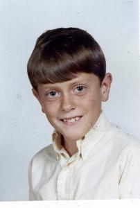 Steve Henderson, age 8, 1969.