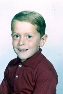 Steve Henderson, age 5.5.  (1966?)