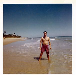 Gerry in Palm Beach, FL, March, 1961.