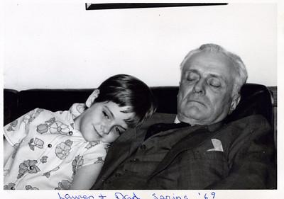 Lauren and Bapa, Spring 1969.