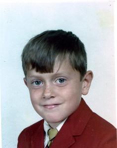 Steve Henderson, age 7, 1968.
