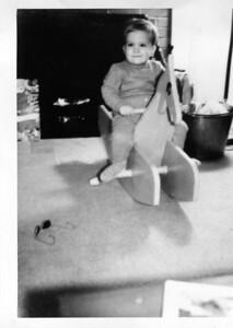 Gerry Henderson, Jr., age 19 months, December 1962.