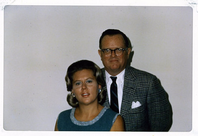 Donna and Brant Henderson, Jr., Winter 1970.