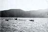 Boat race on Lake George, NY, 1911.