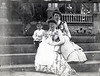New Castle, PA, 1901.  BHH (Bapa), Lucy Henderson, and Katherine B. Ohl holding Edwin N. Ohl, Jr., on the steps of the Ohl house.