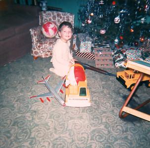 Christmas 1965 - Wayne at 21/2 years.