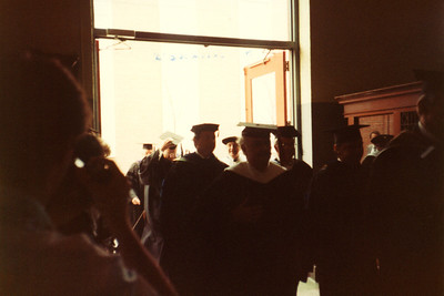 1985 - Wendy's graduation from Champlain College.
