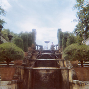 This is the fountain in the formal garden of Vizcaya.