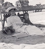 Rose and Laura at Rehoboth c. 1954