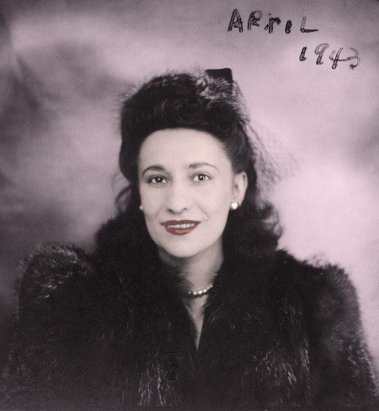 Dorothy Levine (April 1943),  Colorized.