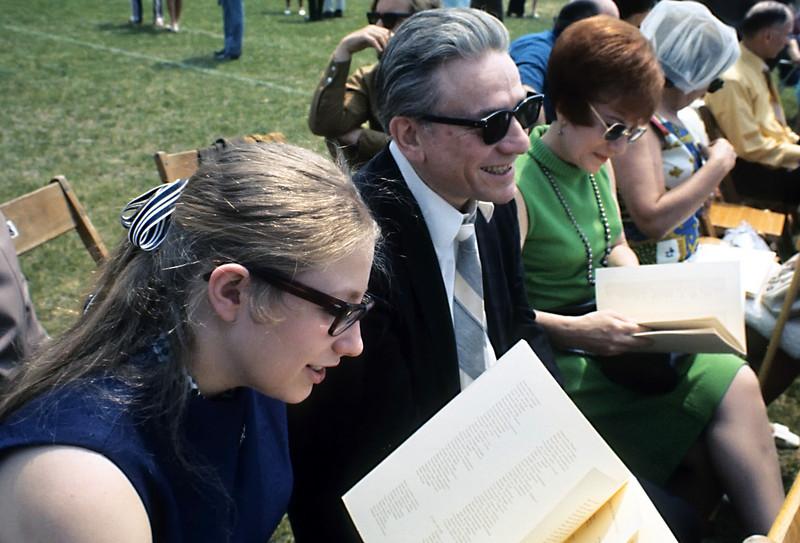 Ethel, Barney, and Dorothy.  Ira's graduation from Stony Brook.