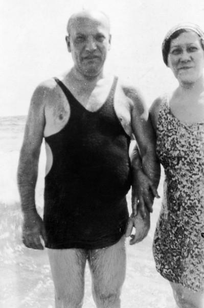 Grandpa and Grandma Millstein (Harvey's maternal grandparents)