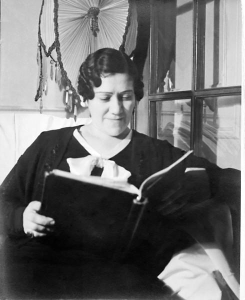 Grandma Celia, Harvey's maternal Grandmother