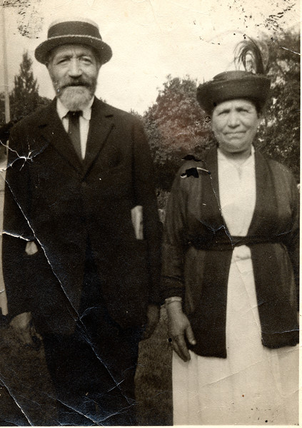 Great Grandpa Max Levine and one of his wives