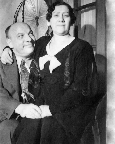 Grandpa Irving and Grandma Celia (Millstein), Harvey's maternal grandparents