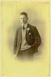 Albert Edmund Meacham circa 1920's (My Grandfather, married to Florence Finlay)