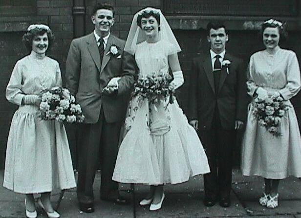 Mum & Dad's Wedding - 1957