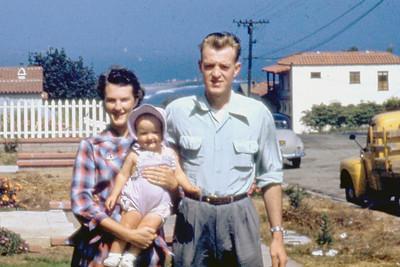 Shirley, Toni, and Foster in San Pedro