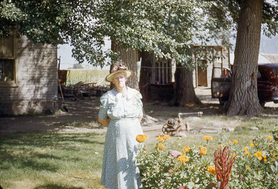 Grandma Margaret Baadsgaard. Lake Shore.