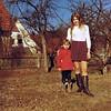 Ich und Tante Ruth, 1970 in Stockdorf - e